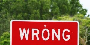 Wrong-Sign